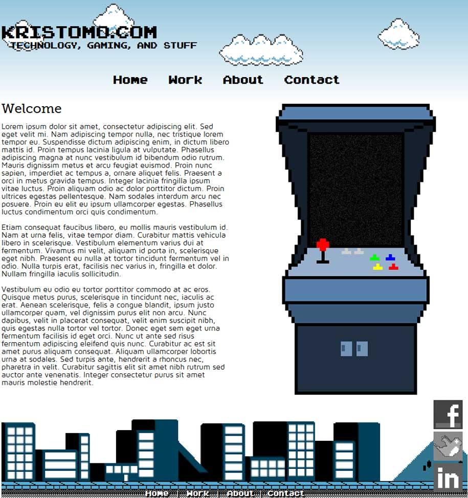 Kristomo.com - Kristopher Moore\'s Web Portfolio